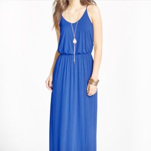 Blue maxi dress by Lush